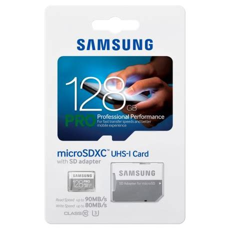 Ac Samsung Batam samsung microsdxc pro memory 128gb class 10 ush 1 90mb s