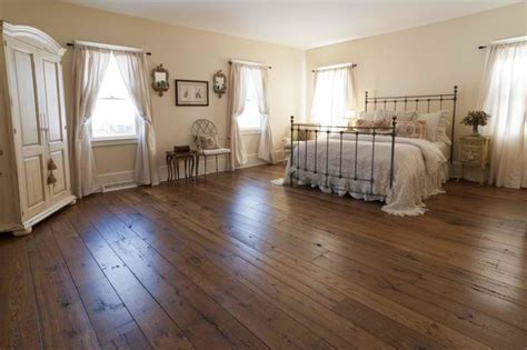 Hardwood Floor Bedroom Antique Resawn Oak Hardwood Flooring Traditional Bedroom Other Metro By Olde Wood Ltd