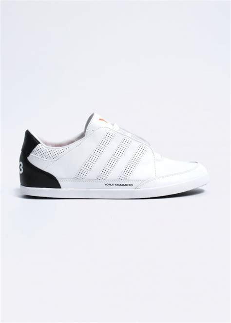 Adidas Y3 Yohji Yamamoto Premium 1 adidas y 3 yohji yamamoto honja classic ii leather trainers running white black