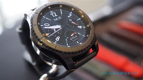 Samsung Gear S3 hands on: Samsung Pay, LTE, rugged smartwatch   SlashGear