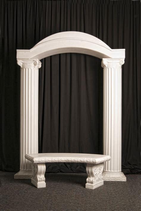 wedding arches columns 2 column arch