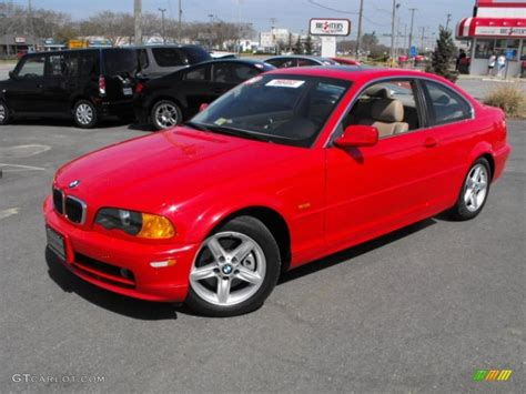 red bmw 328i bright red 2000 bmw 3 series 328i coupe exterior photo