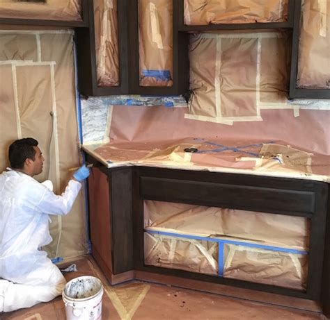 professional cabinet refinishing in nipomo rogall painting
