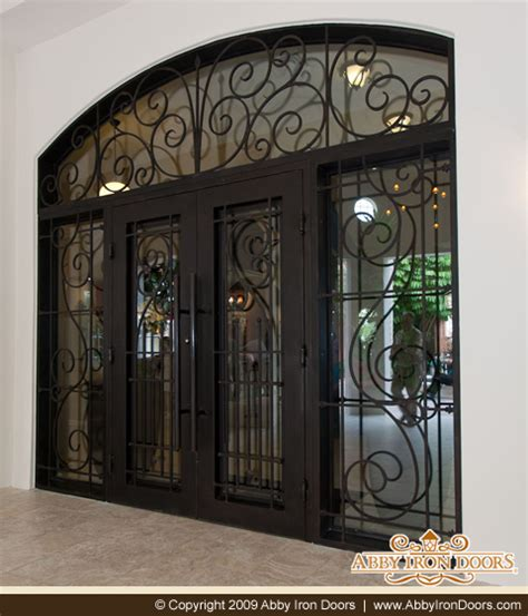doors exterior wrought iron images and photos