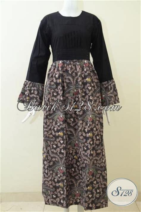 desain baju batik untuk kuliah baju batik panjang model gamis untuk perempuan muda dan