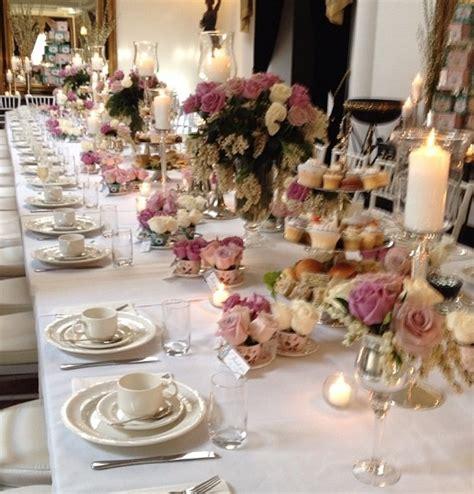 afternoon tea table setting table settings