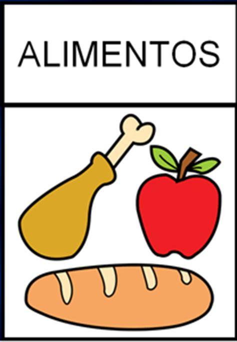pictogramas alimentos incluyetic aula 187 237 culos 187 alimentos