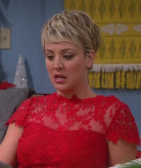 penny big bang theory short hair why dress big bang theory kaley cuoco wheretoget