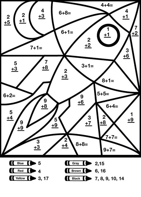 simple math coloring pages 248 best images about addition and subtraction basic math