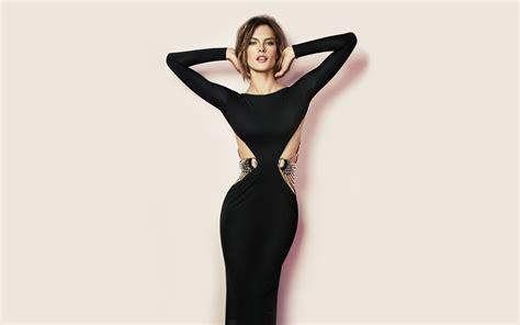 wallpaper girl dress stunning black dress wallpaper 1920x1200 26189