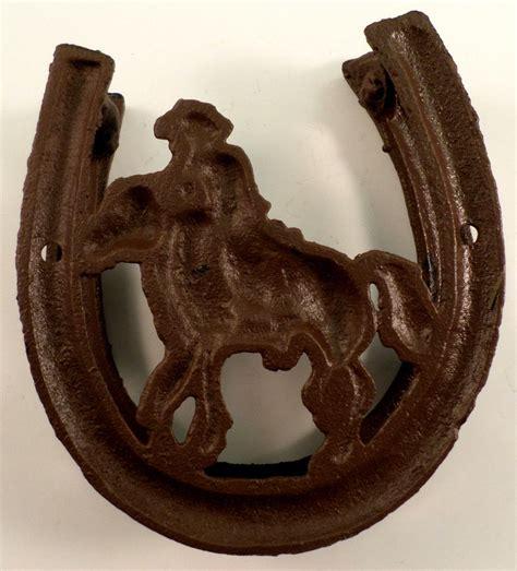 film cowboy iron horse cowboy silhouette cast iron horse shoe western door