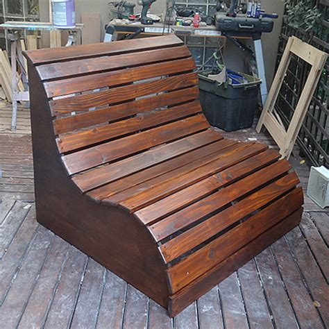 diy garden love seat quiet corner