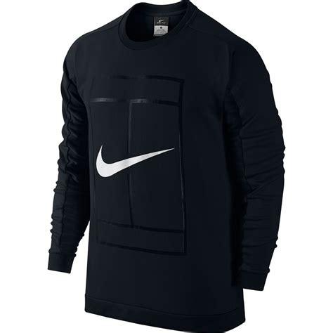 nike court ls crew mens clothing