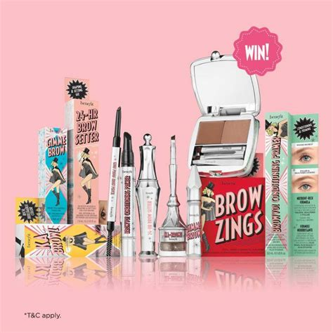 Makeup Benefit Malaysia win a year of brow supply at benefit cosmetics malaysia