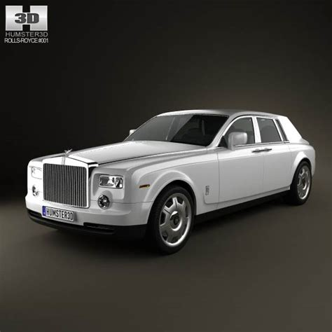 rolls royce phantom 2011 3d model hum3d