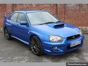 Subaru Wrx Uk Used Subaru Impreza Sti Cars For Sale With Pistonheads