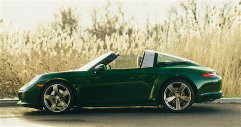 porsche irish green eye candy irish green porsche 991 targa