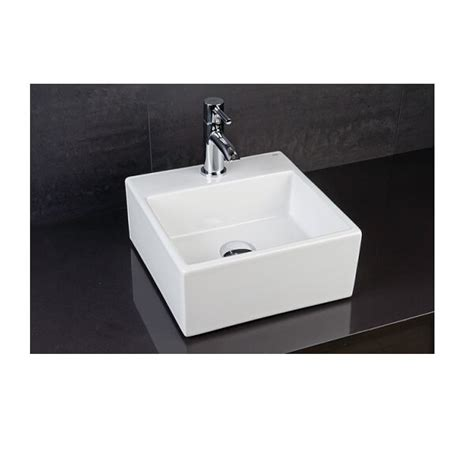 Rak Mini rak mini 325mm counter top basin with 1 tap 325 x 325 x 150mm