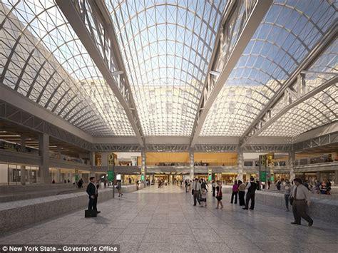 new york station books new york s penn station to undergo 3billion makeover