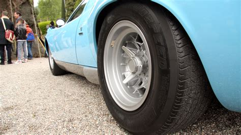 Lamborghini Tires Even The Lamborghini Miura S Tires Scream Speed