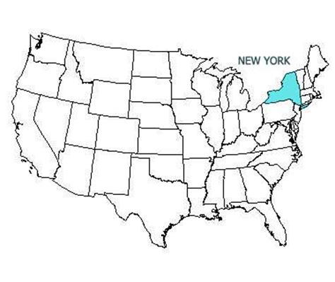 us new york map new york state motto nicknames and slogans