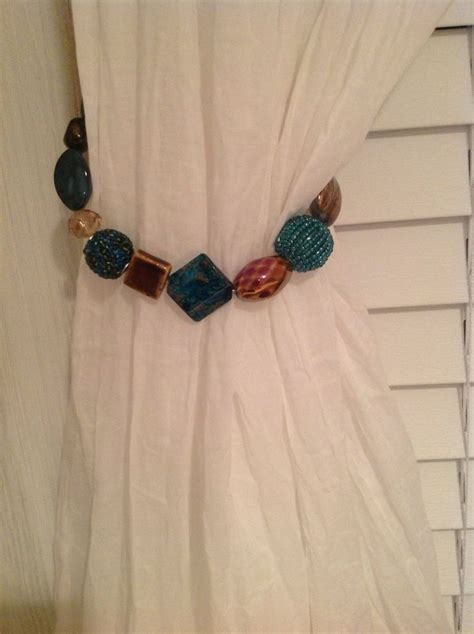 how to make curtain tie backs with beads 17 best images about my crafts on pinterest ceramics