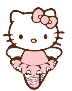 Color For Happy Ballerina Clipart Hello Kitty