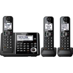 walmart home phones with answering machine panasonic cordless phone and answering machine with 3
