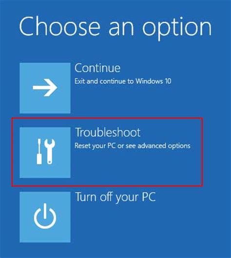how to choose windows how to use windows 10 advanced boot options