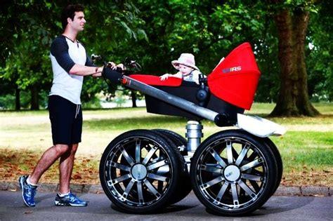 Kinderwagen Auto by škoda Vrs Mega Man Pram Is A Baby Stroller For Real Men