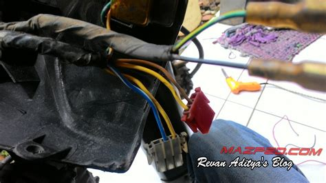 Lu Led Buat Motor Zr pasang led cree m11c 6 watt di supra x mazpedia