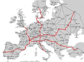 Rail Europe Map by Inspirations Views Ideas Inter Rail Connected Europe