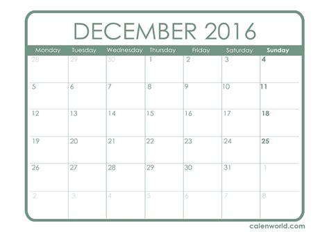 free printable december calendar template december 2016 calendar template 2017 printable calendar