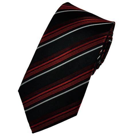 black burgundy silver striped silk tie from ties