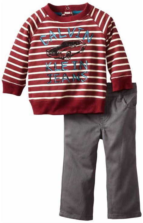 Baju Bayi S rays baju bayi bermerek calvin klein untuk bayi laki laki anda