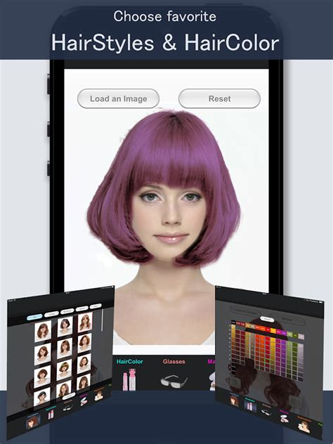 simulate hair color hairstyle simulator simfront android apps on google play