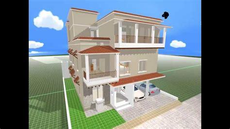 multi story home design rendered plandcom
