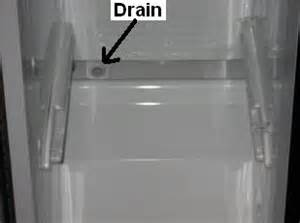 clogged drain causes leaking refrigerators