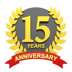 15 years anniversary 3d character illustrations free image