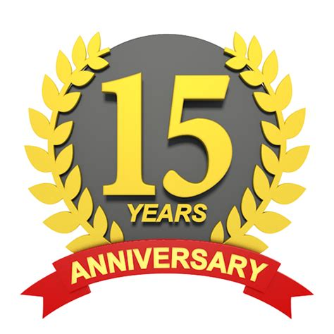 15 in years 15 years anniversary 3d character illustrations free image
