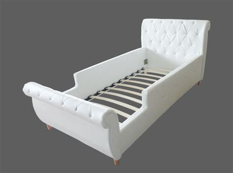 Single Leather Bed Frame Boys Bed Toddler Pu Leather Single Bed Frame Buy Pu Leather Bed Frame