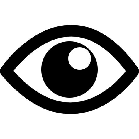 vector gratis ojo ver icono imagen gratis en pixabay imagen del ojo con la pupila blanca descargar iconos gratis