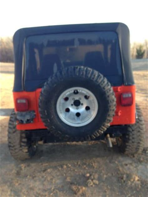 Best Tires For Jeep Wrangler Sport Purchase Used No Reserve 1994 Jeep Wrangler S Sport