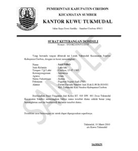 format proposal bahasa indonesia application letter sle indonesia