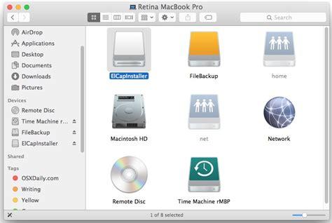 membuat usb bootable el capitan how to create a os x el capitan boot installer usb flash drive