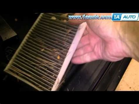 Cabin Filter Honda Crv by How To Install Replace Cabin Air Filter Honda Cr V 02 06