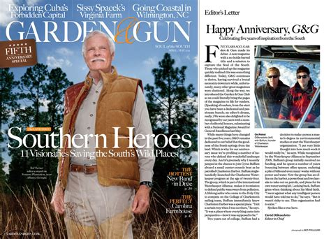 Garden And Gun Best Of The South 2015 Charleston Waterkeeper Featured In Garden Gun Magazine