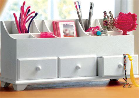 drawer tidies bedroom wooden desk tidy organiser caddy pen holder tidy drawers
