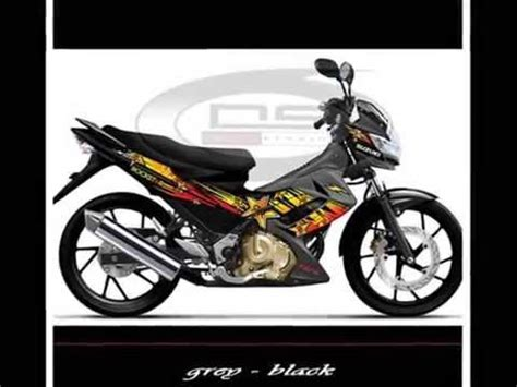 Sticker Striping Satria Fu Bull Racing Team drag racing fast cars dragtimes