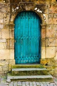 turquoise enter smiling doors